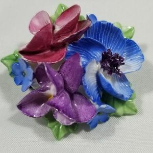 Vintage custom signed pin brooches